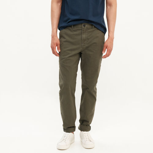 Roots-Clearance Men-Kensington Chino Pant-Fatigue-A