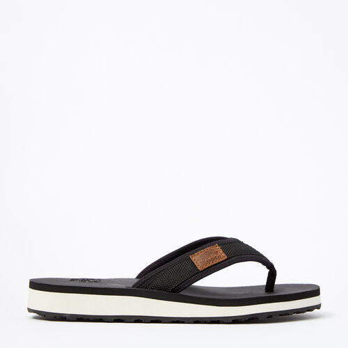Roots-Sale Footwear-Womens Tofino Flip Flop Web-Black-A
