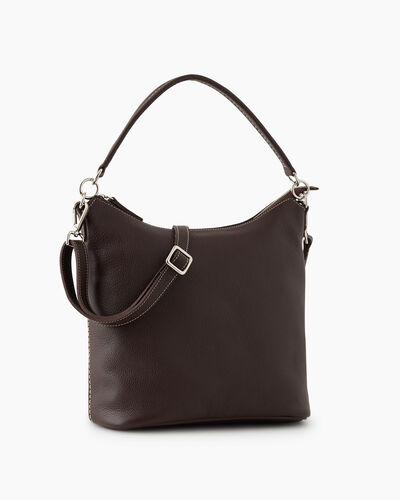 Roots-Leather New Arrivals-Ella Bag Cervino-Chocolate-A