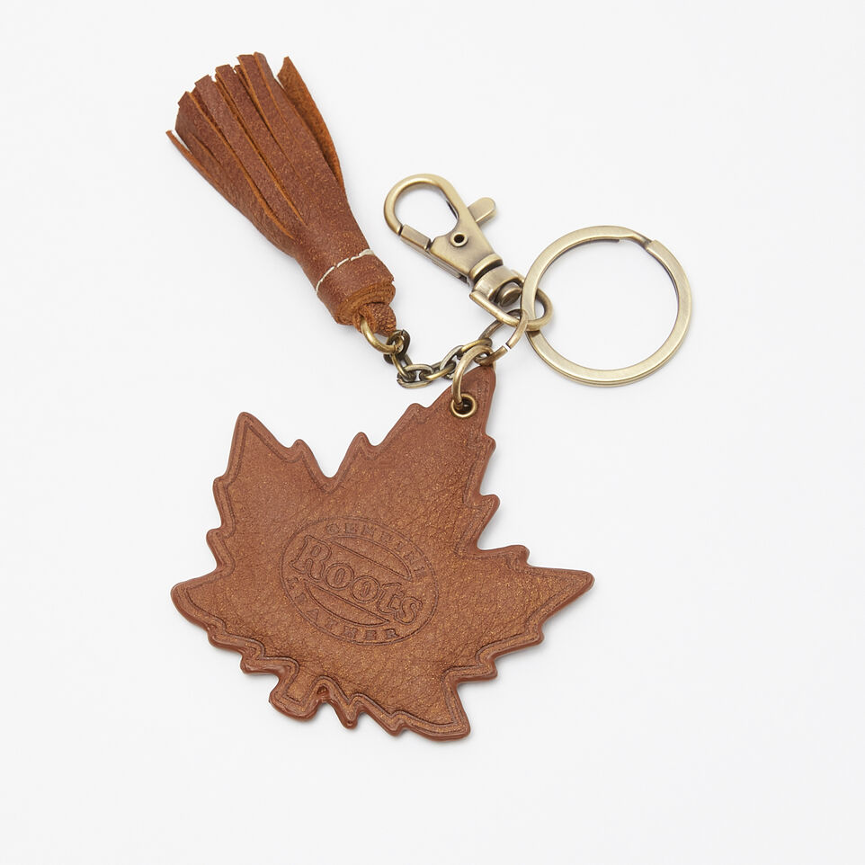 Roots-undefined-Heart & Stroke Maple Keychain Tribe-undefined-B