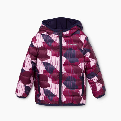 Roots-Kids Toddler Girls-Toddler Roots Camo Puffer Jacket-Camo Print-A