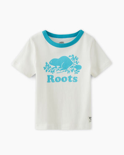 Roots-Kids T-shirts-Toddler Cooper Pop T-shirt-Peacock Blue-A