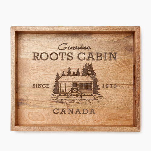 Roots-Women General Store-Roots Cabin Tray-Natural-A