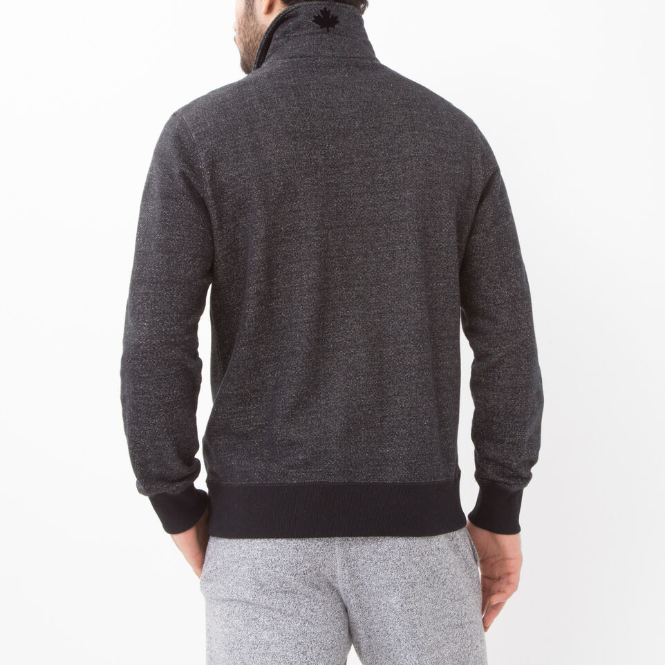 Roots-undefined-Roots Black Pepper Original Zip Polo-undefined-D