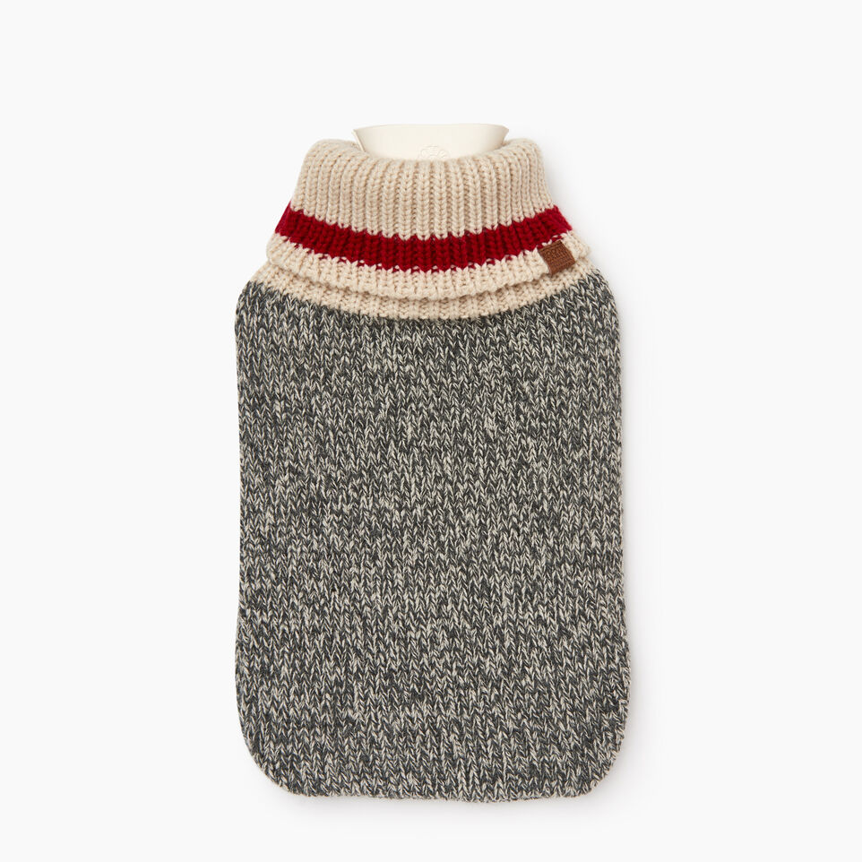Roots-Women Our Favourite New Arrivals-Cabin Hot Water Bottle-Grey Oat Mix-A