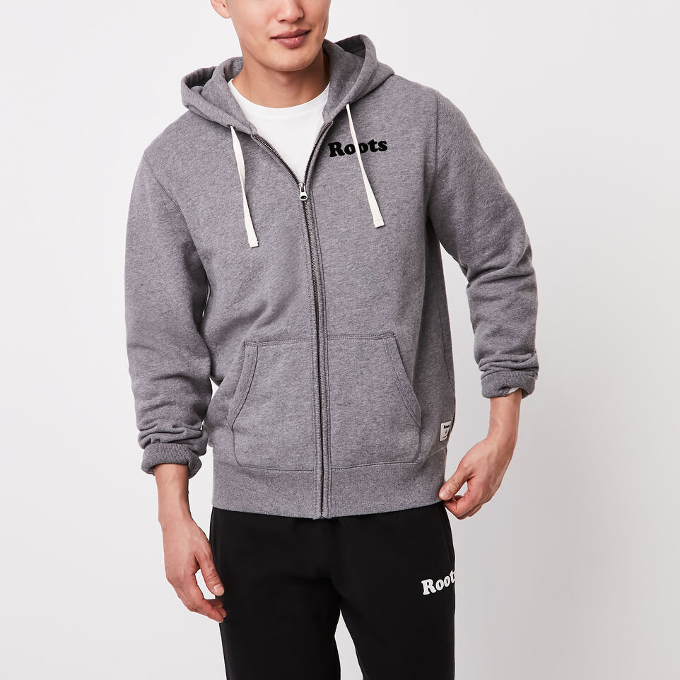 Roots-undefined-Original Wordmark Full Zip Hoody-undefined-A
