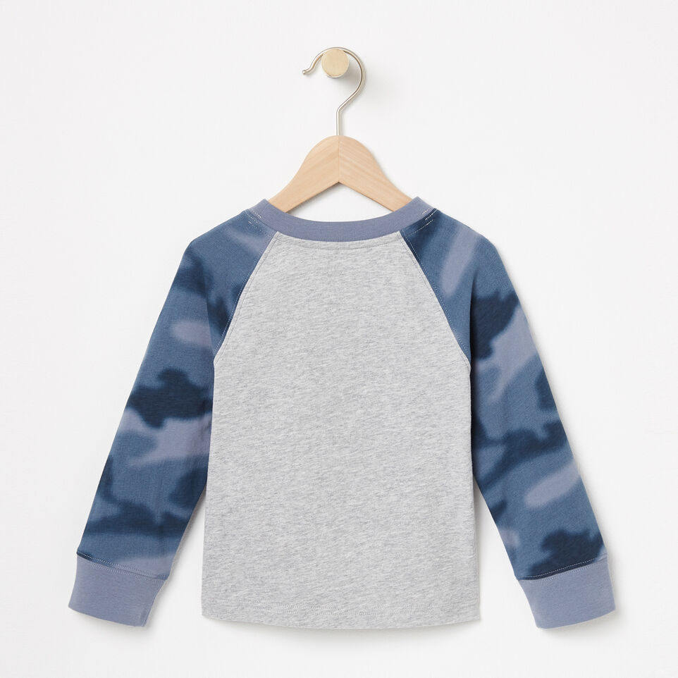 Roots-undefined-Toddler Blurred Camo Top-undefined-B