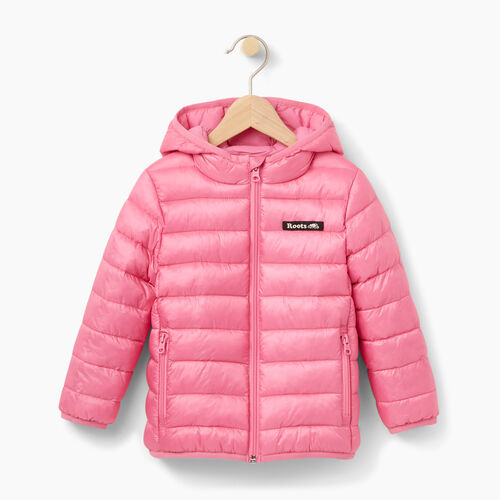 Roots-Winter Sale Kids-Toddler Roots Puffer Jacket-Azalea Pink-A