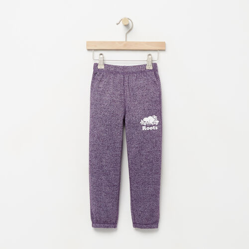 Roots-Kids Bottoms-Toddler Original Roots Sweatpant-Purple Pennant Peppr-A