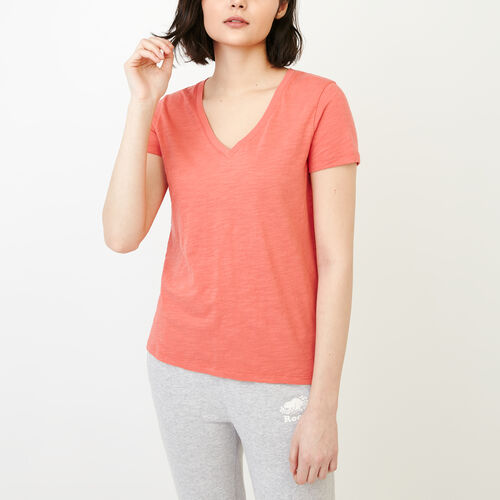 Roots-Women Tops-Holly Top-Chrysanthemum-A