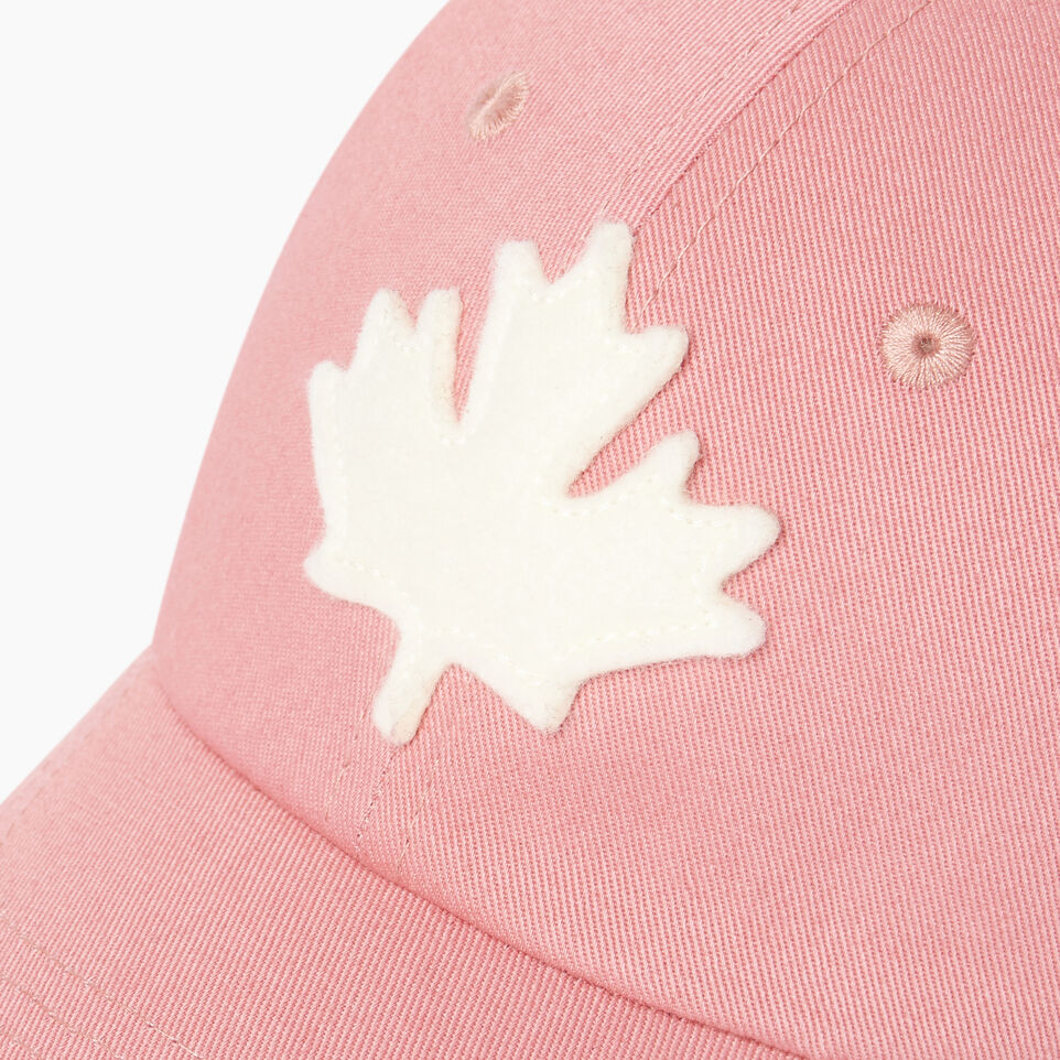 Roots-Clearance Kids-Toddler Canada Baseball Cap-Pink-D
