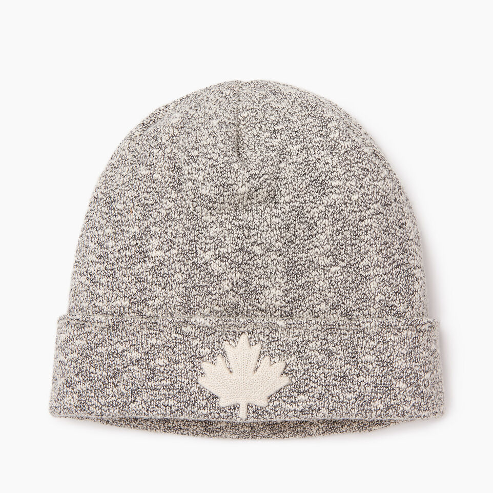 Roots-Men Categories-Snowy Fox Leaf Toque-Snowy Fox-B