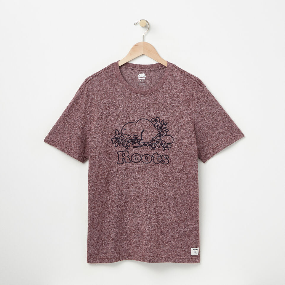 Roots-Mens Chain Beaver T-shirt