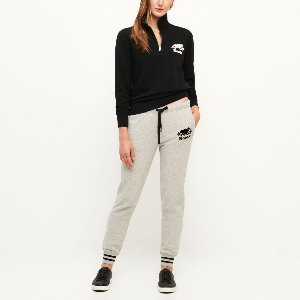 Roots-undefined-Cooper Beaver Original Zip Polo-undefined-B