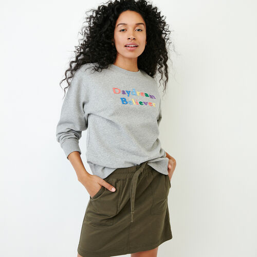 Roots-Women Bestsellers-Kinkora Crew Sweatshirt-Grey Mix-A
