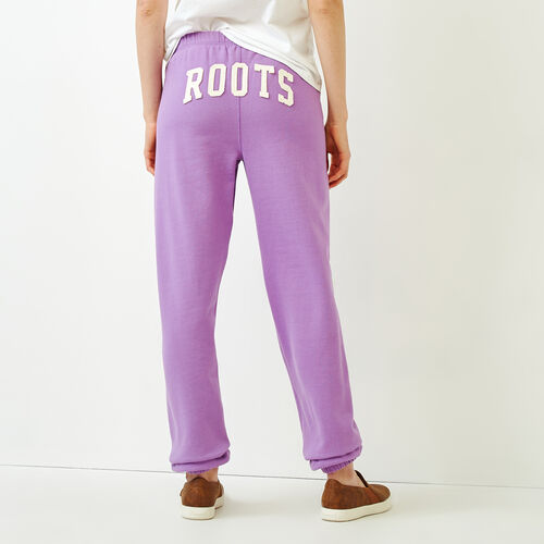 Roots-Women Categories-Original Boyfriend Sweatpant-Fuchsia Purple-A