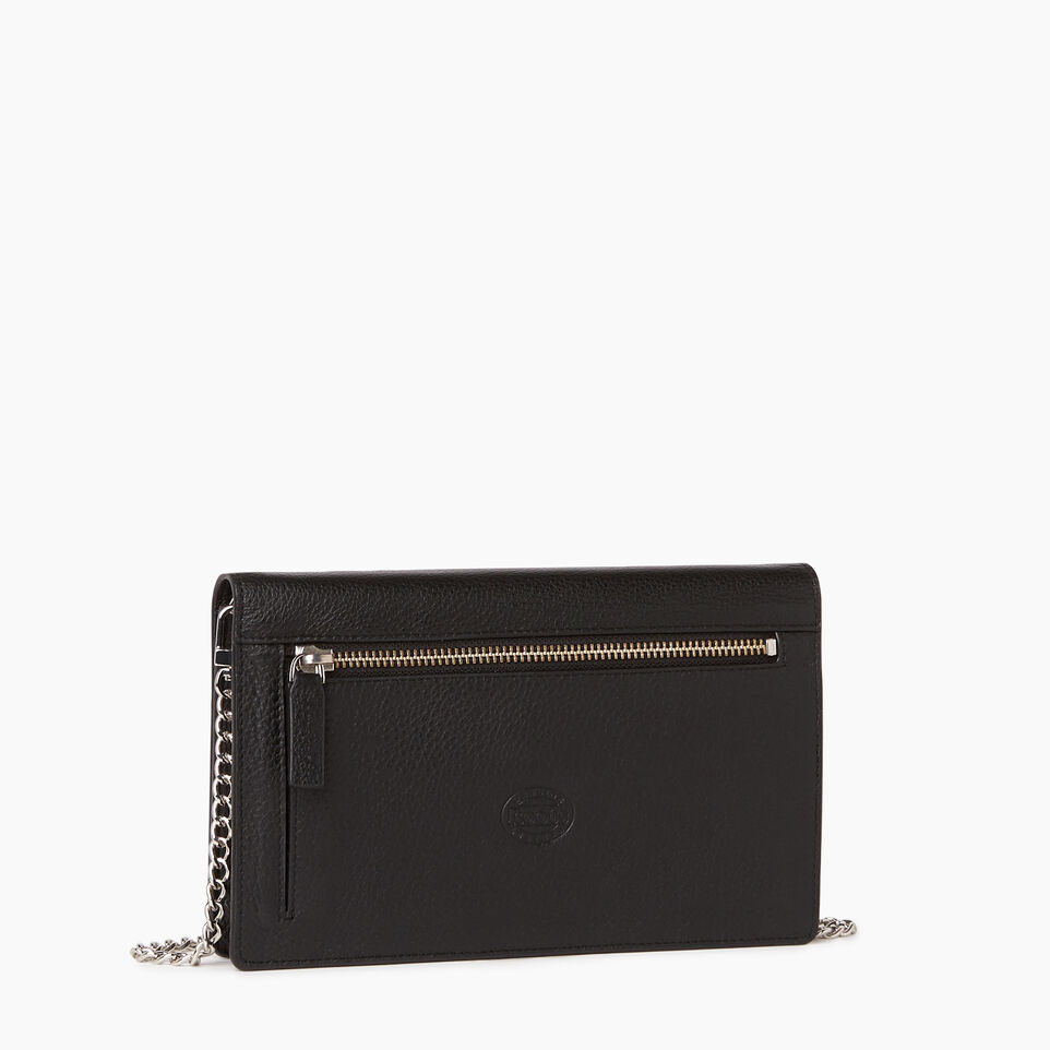 Roots-Leather  Handcrafted By Us Our Favourite New Arrivals-Sussex Wallet Bag-Black-C