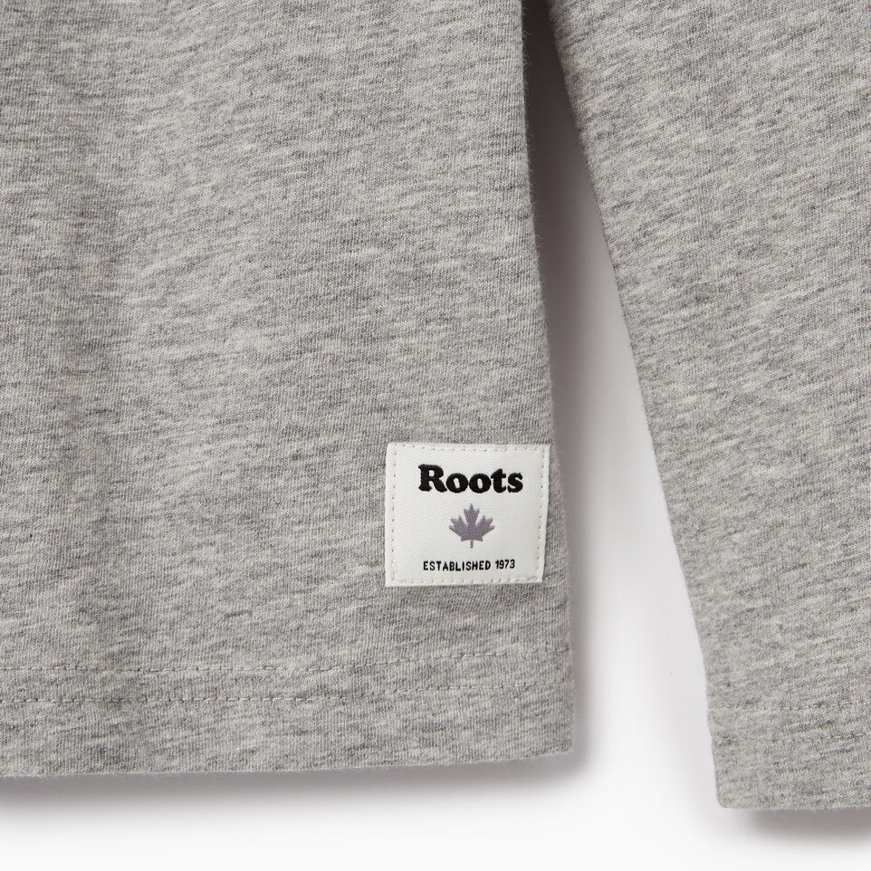 Roots-Kids Our Favourite New Arrivals-Boys Paddle On T-shirt-Grey Mix-C
