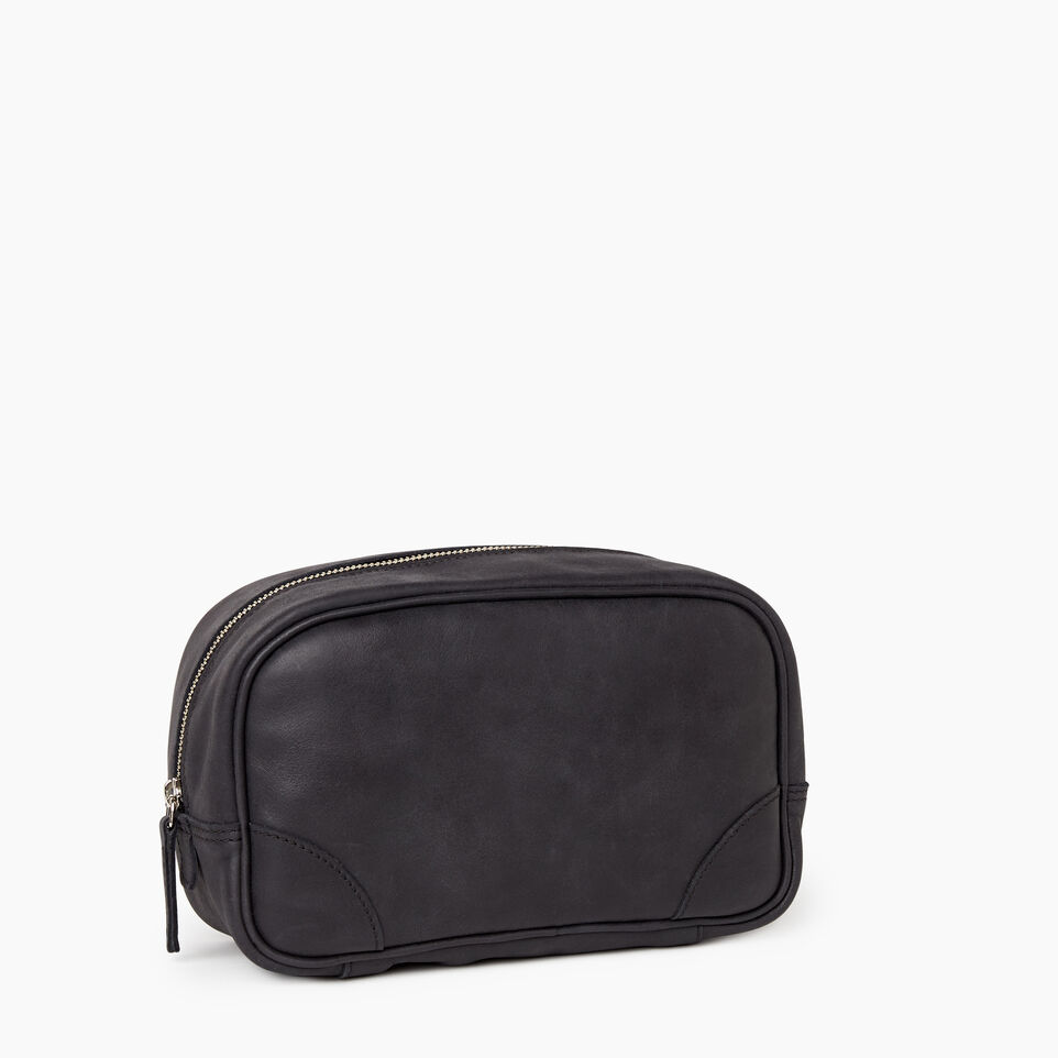 Roots-Leather  Handcrafted By Us Our Favourite New Arrivals-Jasper Dopp Kit-Jet Black-A