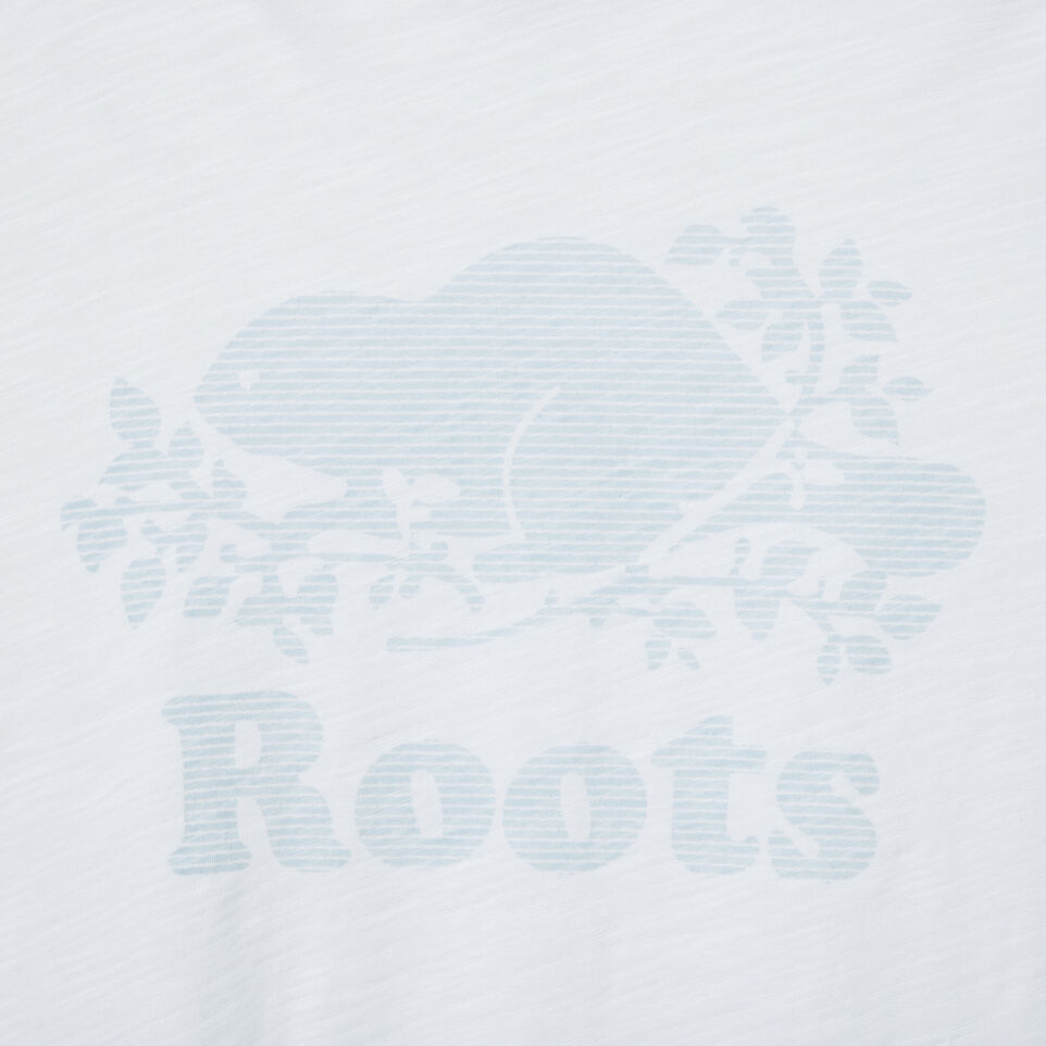 Roots-undefined-Womens Hatched Slub T-shirt-undefined-D