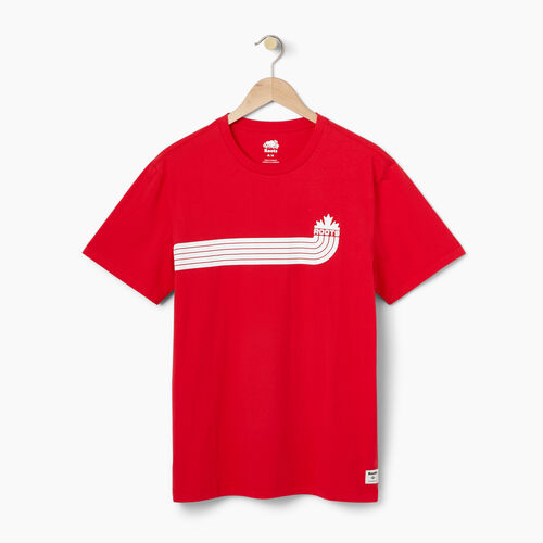 Roots-Men Our Favourite New Arrivals-Mens Canada Sport T-shirt-Racing Red-A