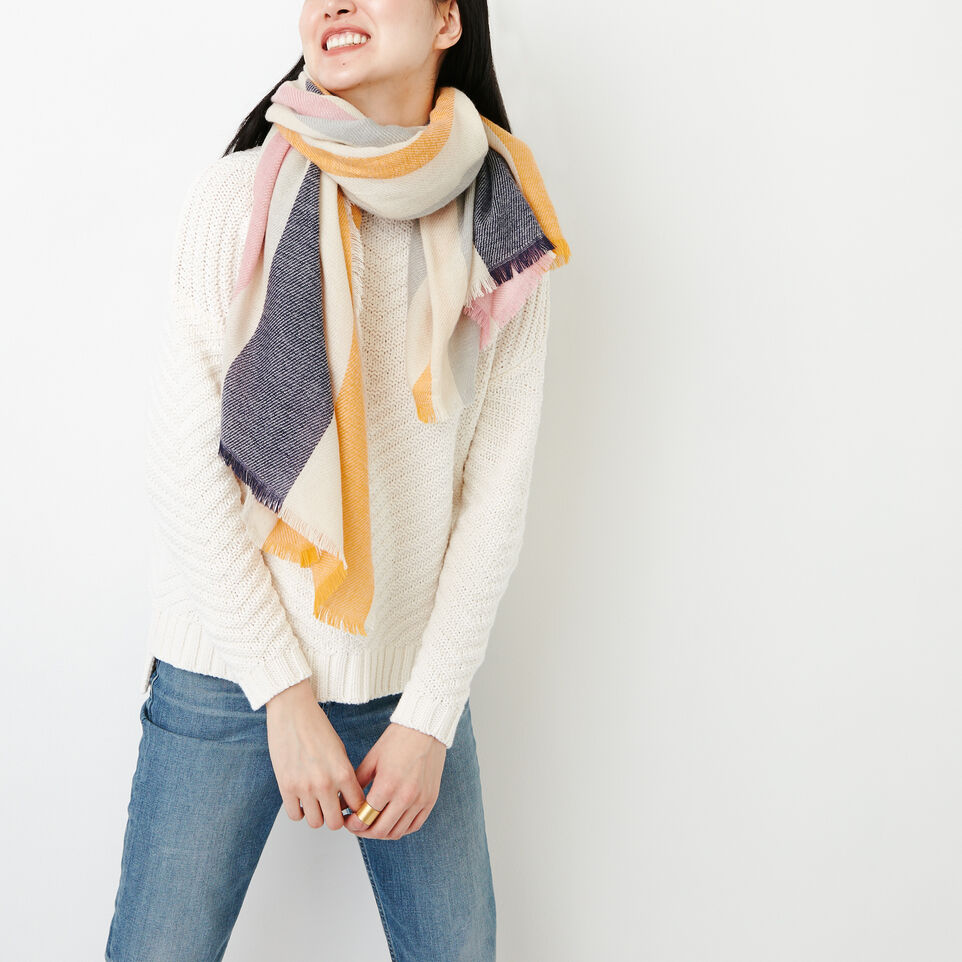 Roots-Women Our Favourite New Arrivals-Stanhope Scarf-Multi-A