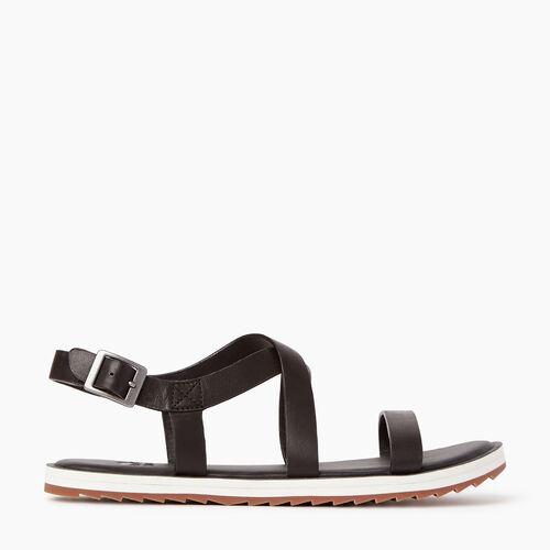 Roots-Women Categories-Womens Nelson Sandal-Abyss-A