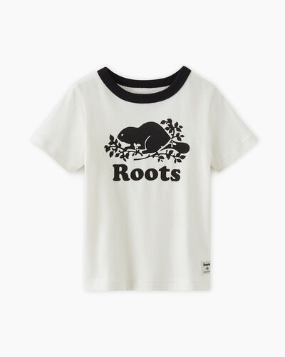 Roots-Kids T-shirts-Toddler Cooper Pop T-shirt-Black-A