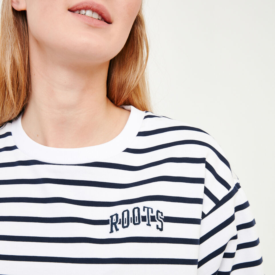 Roots-Women Our Favourite New Arrivals-Brookley Top-White-E