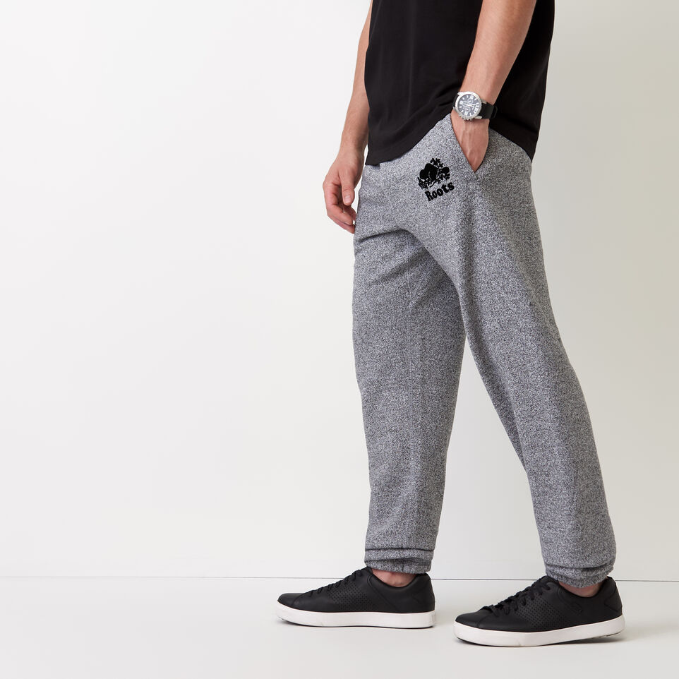 Roots-undefined-Roots Salt and Pepper Original Sweatpant - Tall-Salt & Pepper-C
