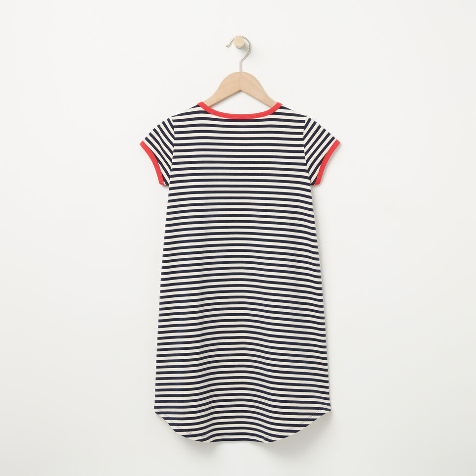 Roots-undefined-Girls Ava Stripe Dress-undefined-B