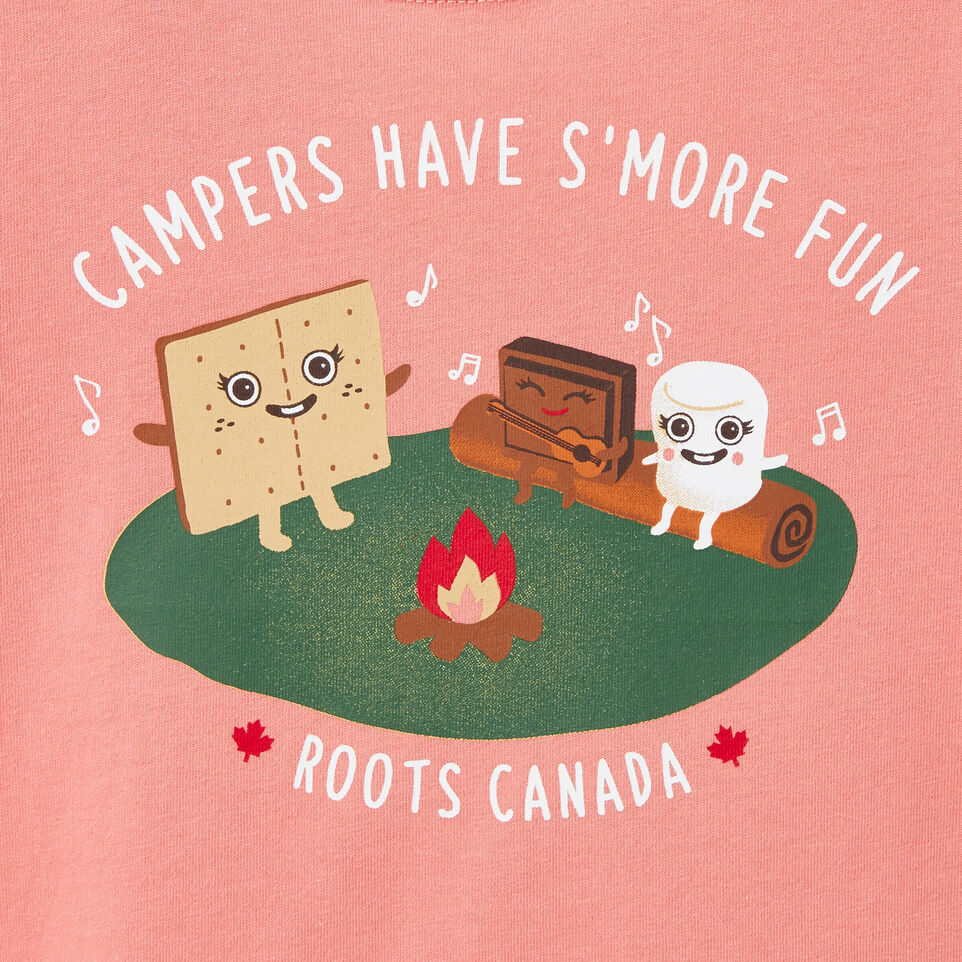 Roots-undefined-Tout-Petits T-shirt S''more Fun-undefined-C