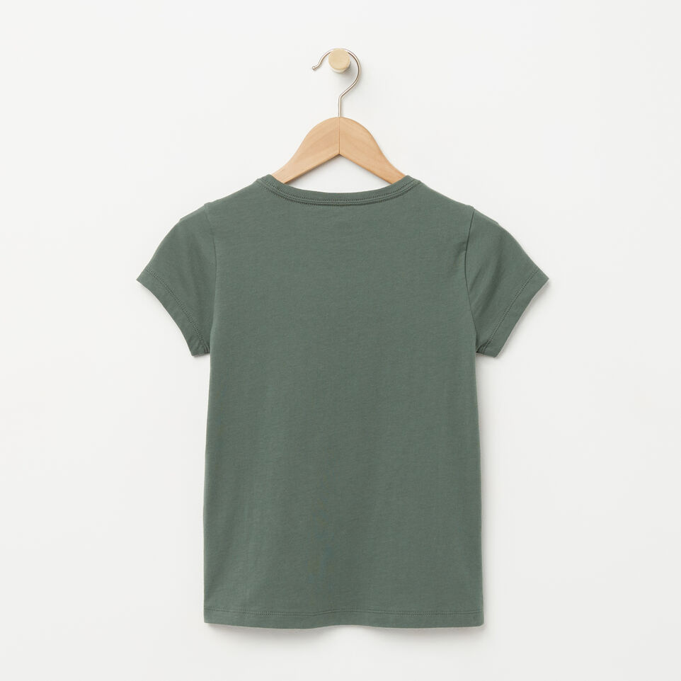 Roots-undefined-T-shirt Sport Roots pour filles-undefined-B