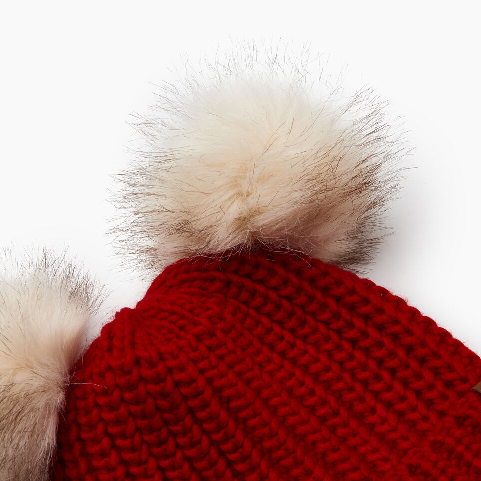 Roots-Sale Kids-Toddler Girl Olivia Toque-Cabin Red-C