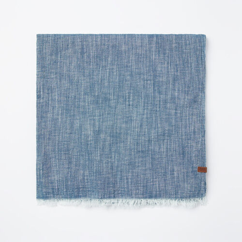 Roots-Sale 30-40% Off-Beachcomber Scarf-Force Blue-A