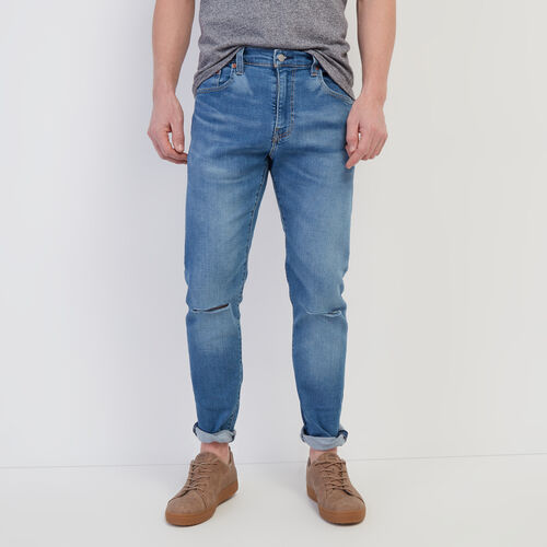Roots-Men Bottoms-Levi's 512 Jean 32-Light Denim-A