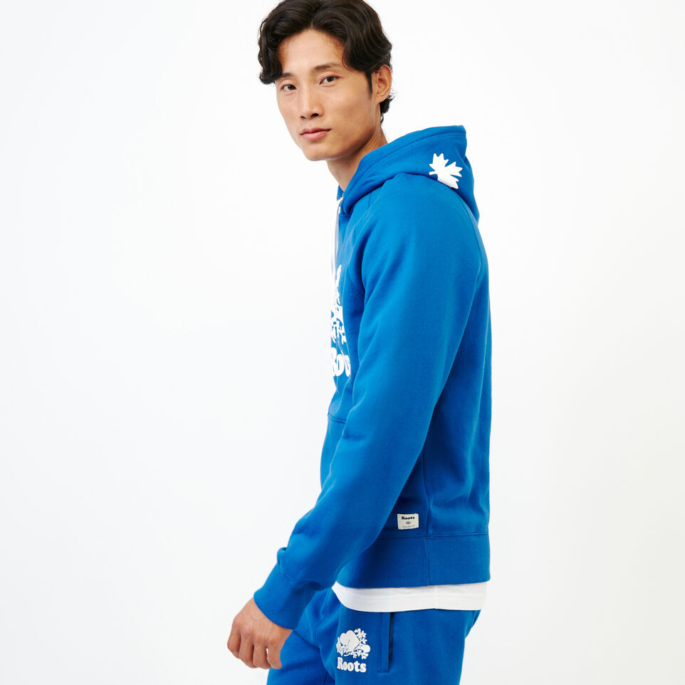 Roots-Men Our Favourite New Arrivals-Original Kanga Hoody-Olympus Blue-C