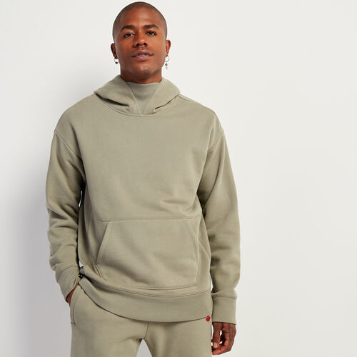 Roots-Sweats Sweatshirts & Hoodies-Parkdale Relaxed Kanga Hoody-Dried Sage-A