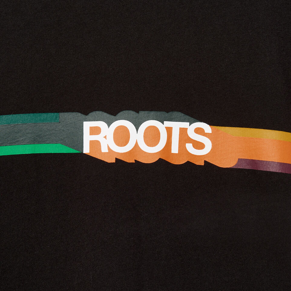 Roots-undefined-Mens Border Colours T-shirt-undefined-D