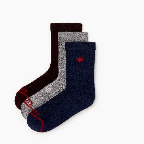 Roots-Men Our Favourite New Arrivals-Perfect Pepper Sock 3 Pack-Multi-A