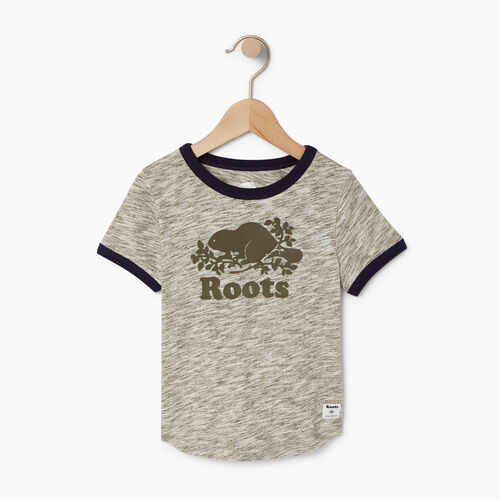 Roots-Kids Our Favourite New Arrivals-Toddler Roots Space Dye T-shirt-Winter Moss Green-A