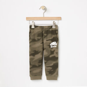Roots-Kids Sweats-Baby Blurred Camo Slim Sweatpant-Dusty Olive-A