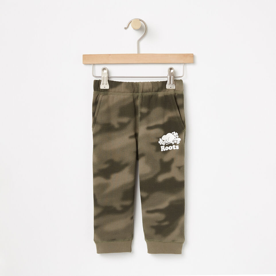 Roots-Baby Blurred Camo Slim Sweatpant