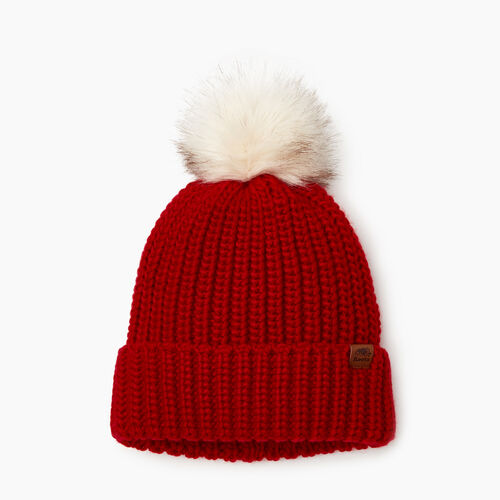 Roots-Clearance Kids-Kid Girl Olivia Toque-Cabin Red-A