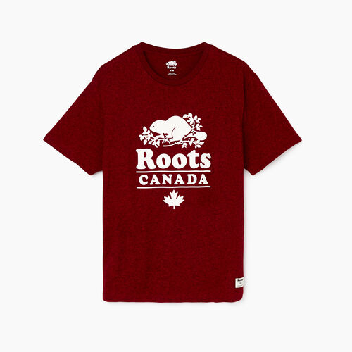 Roots-Men Our Favourite New Arrivals-Mens Roots Canada 1973 T-shirt-Cabin Red Pepper-A