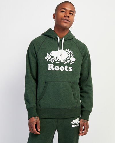 Roots-Men Sweatshirts & Hoodies-Original Kanga Hoody-Camp Green Pepper-A