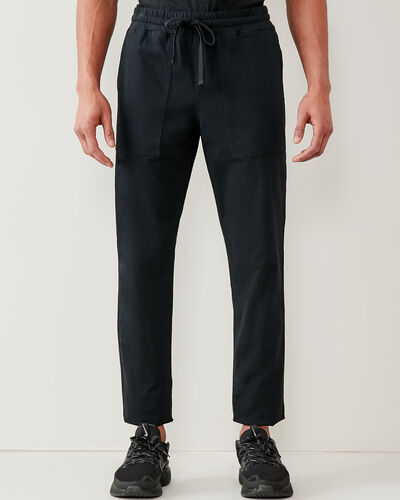 Roots-Men New Arrivals-Journey Pull-on Pant-Black-A