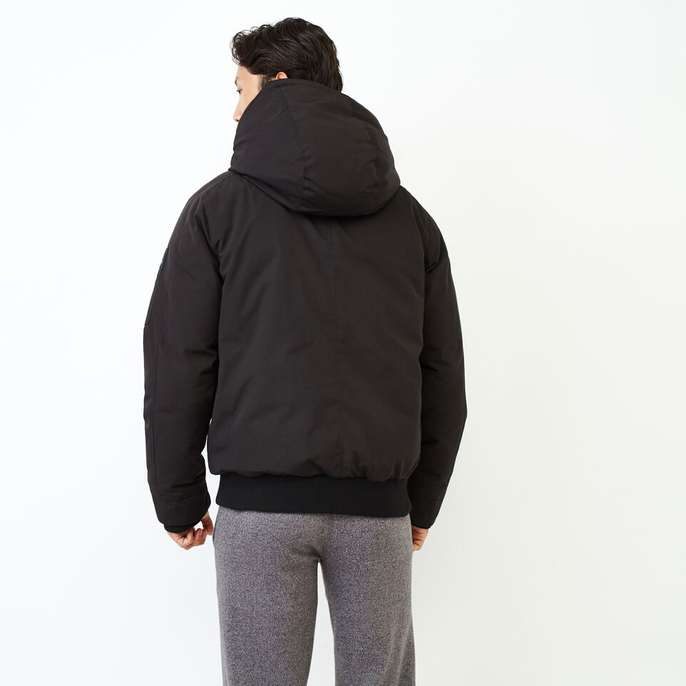 Roots-Men Our Favourite New Arrivals-Tobermory Down Jacket-Black-D