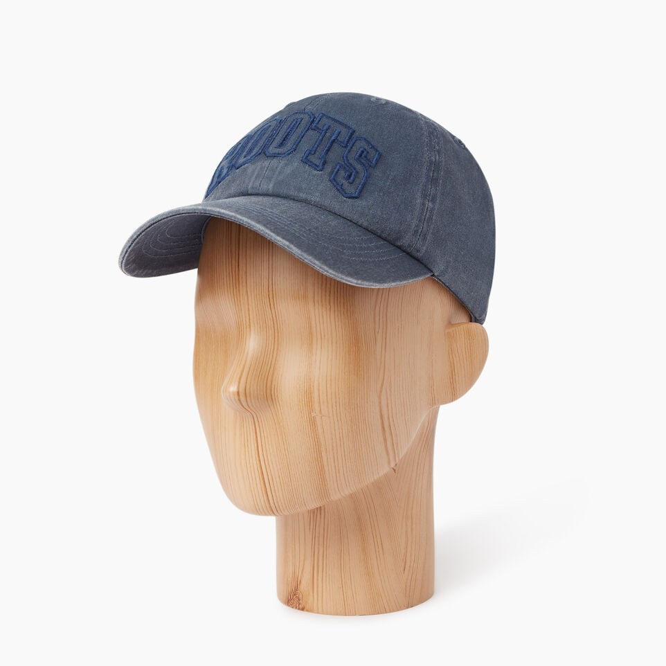 Roots-Men Our Favourite New Arrivals-Strathcona Baseball Cap-Blue-B