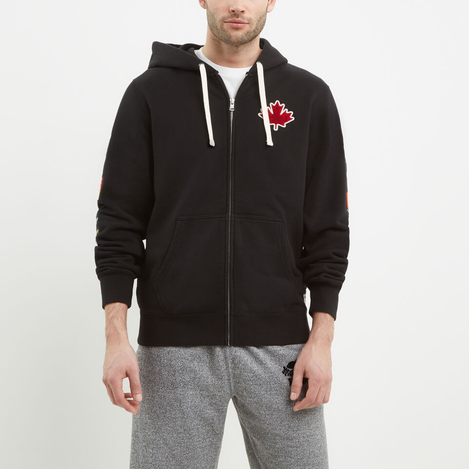 Roots-undefined-Patches Full Zip Hoody-undefined-B
